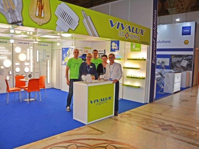 VIVALUX участва за втора поредна година на International Electric & Automation Show (IEAS) в Румъния, Букурещ, 19-22 септември, 2017