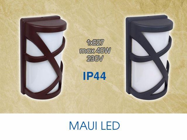 Външно осветление за стена с аплик MAUI