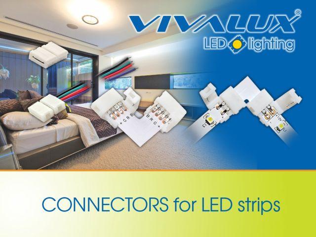 Свързващи елементи за LED ленти Vivalux