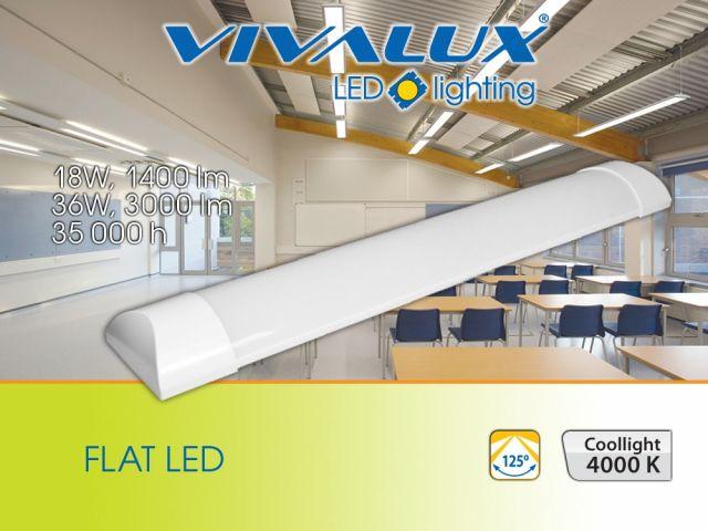 Нови LED осветителни тела FLAT VIVALUX