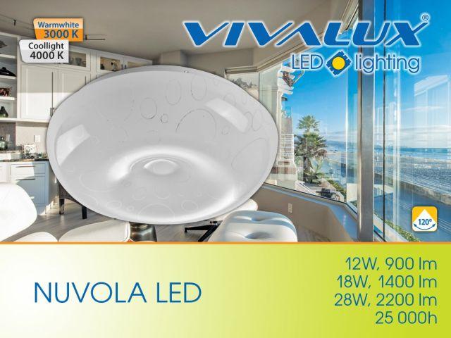Декоративни LED плафониери NUVOLA
