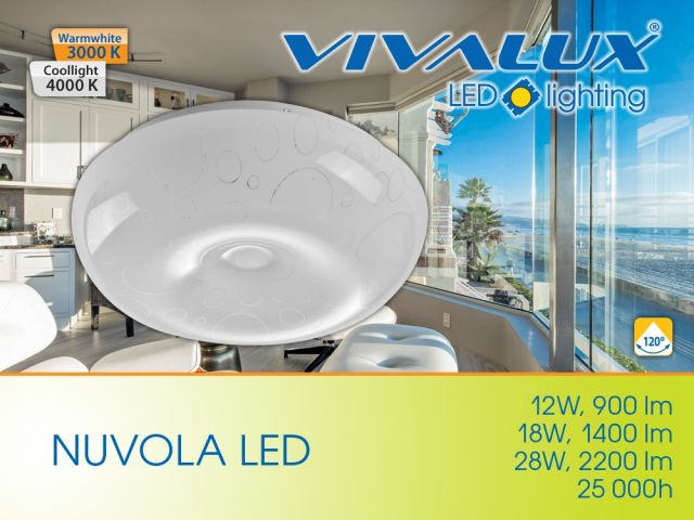 New series decorative LED lighting fixtures NUVOLA