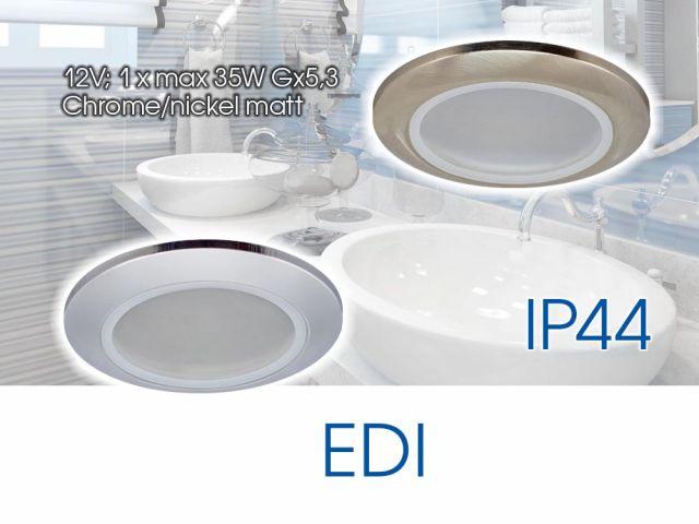 Waterproof lighting fixtures for bathroom EDI