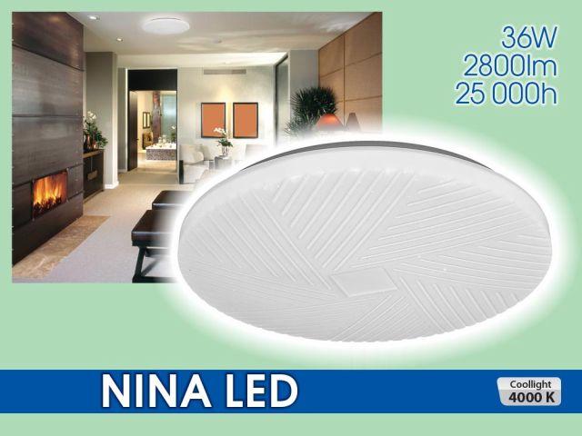 Декоративна плафониера NINA LED