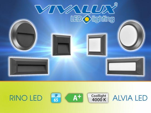 Нови ултракомпактни влагозащитени LED плафониери VIVALUX