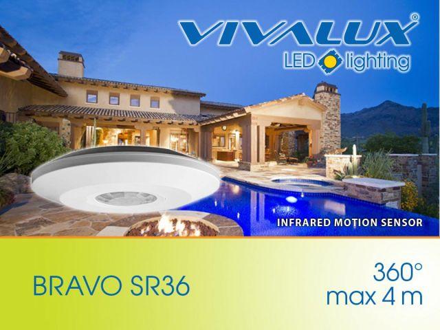 New! Infrared motion sensor BRAVO Vivalux