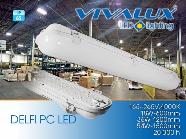 Светодиодно индустриално осветително тяло DELFI LED