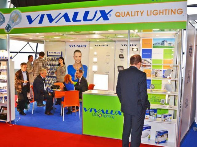 VIVALUX participated in the International Technical Fair in Romania - TIB EXPO 14-17 October 2015