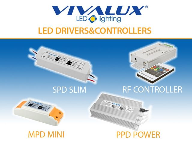 New series of LED power supplies VIVALUX