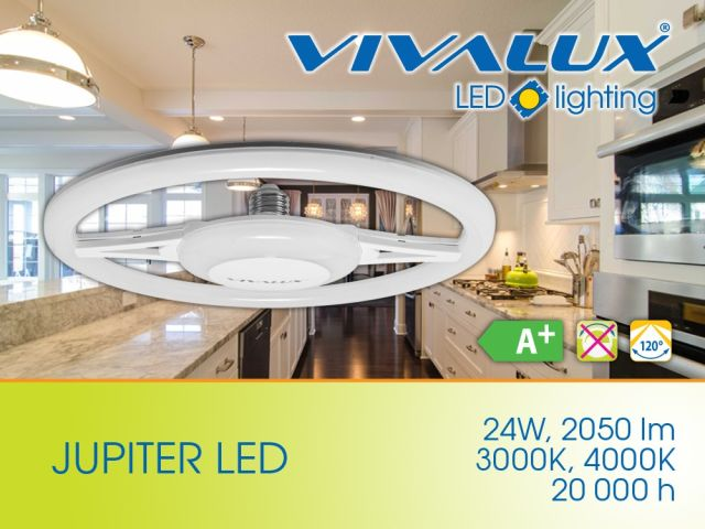 Ring LED lamps in the product range of VIVALUX
