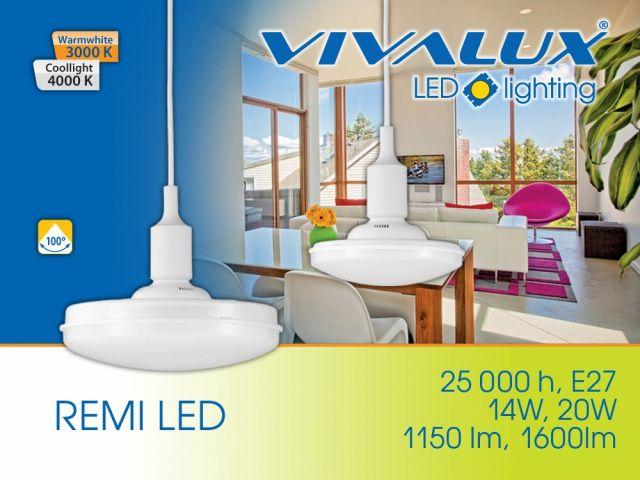LED lighting fixtures REMI 14W/20W VIVALUX