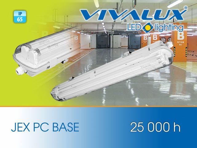 Industrial lighting fixtures JEX PC BASE IP65