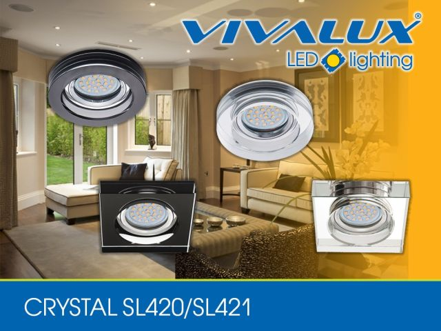 New series downlights VIVALUX - CRYSTAL, GRACE and STYLE