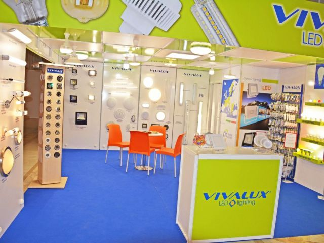 For the second year VIVALUX participated in the International Electric & Automation Show (IEAS) in Romania, Bucharest, 19-22 September, 2017