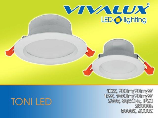 LED downlights TONI LED
