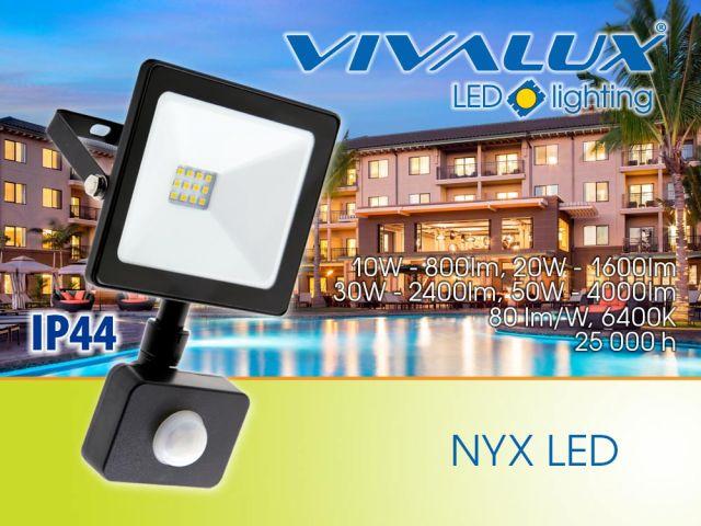 Нови LED прожектори - NYX LED/TREND 50W