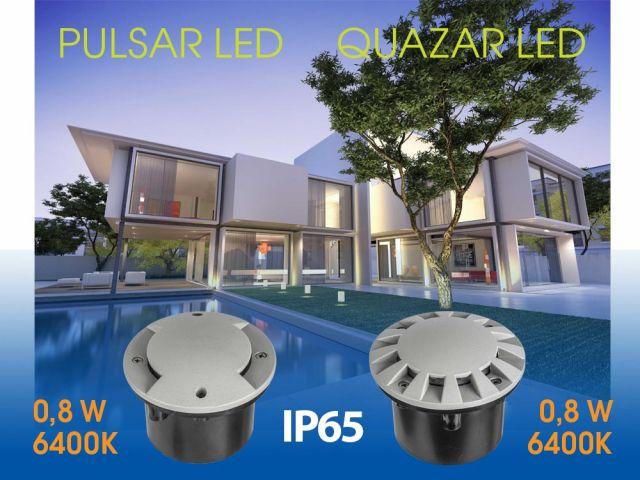 LED тела за вграждане в земя PULSAR LED и QUAZAR LED