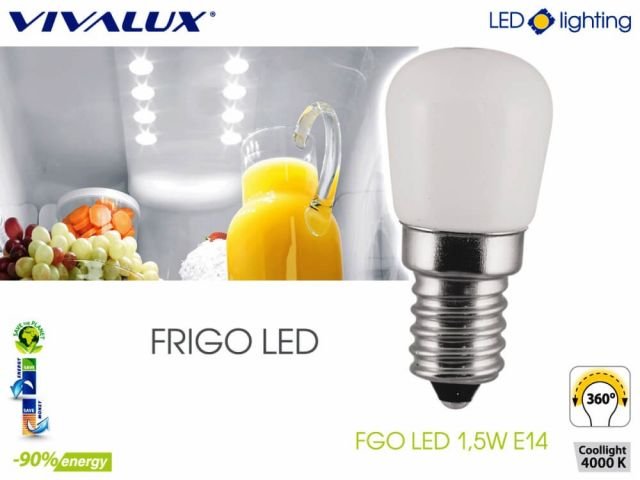 FRIGO LED - the first LED lamp to bulgarian market for lighting in the refrigerator and freezer