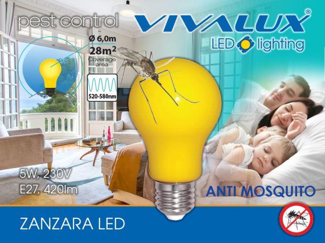 Ново! Лампа против комари ZANZARA LED
