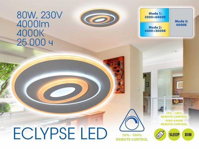 Мултифункционална плафониера ECLYPSE LED