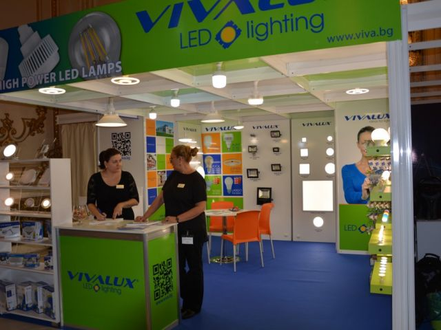 VIVALUX participated in the International Electric & Automation Show (IEAS) in Romania, 20-23 September, 2016