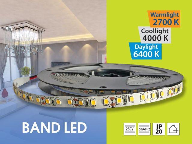 Нови икономични LED ленти BAND LED 120 SMD2835 5м