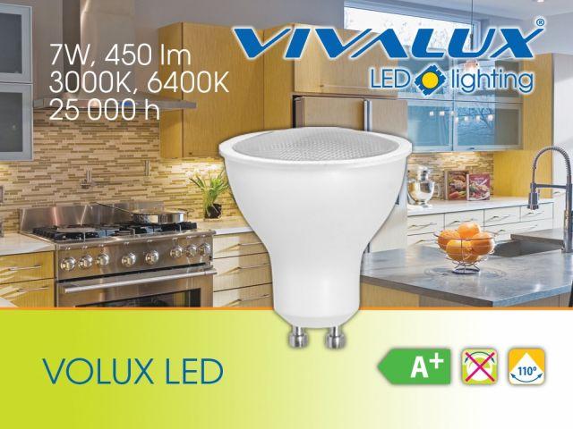 7W нови мощни LED лампи VIVALUX