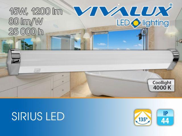 Нови LED осветителни тела за баня Vivalux