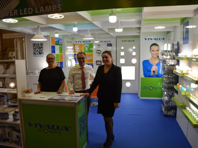 VIVALUX участва на International Electric & Automation Show (IEAS) в Румъния, 20-23 септември, 2016