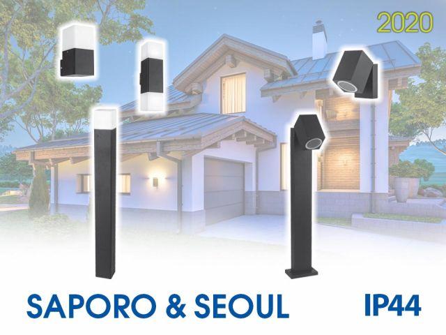 Повече светлина в градината с новите SAPORO и SEOUL
