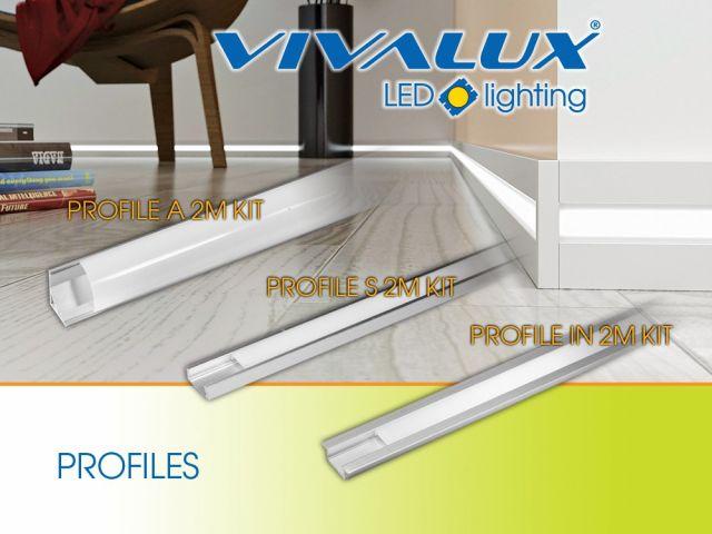 Aluminum PROFILES for LED strips