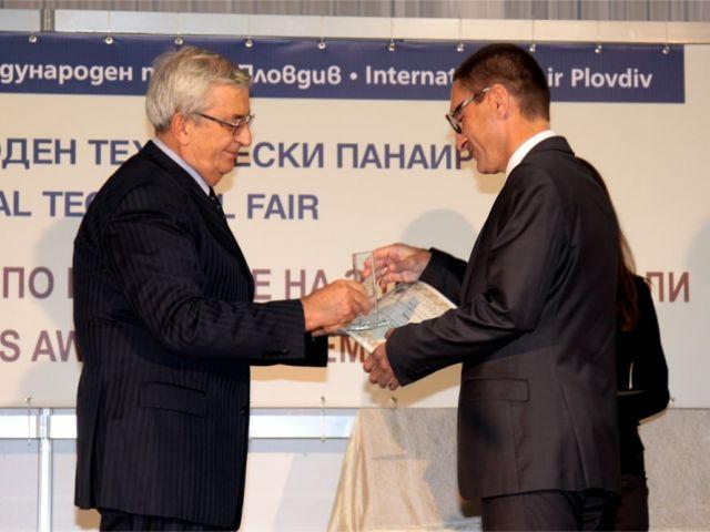 FULL GLASS LED спечели наградата на Българска асоциация на електротехниката и електрониката за иновативен продукт