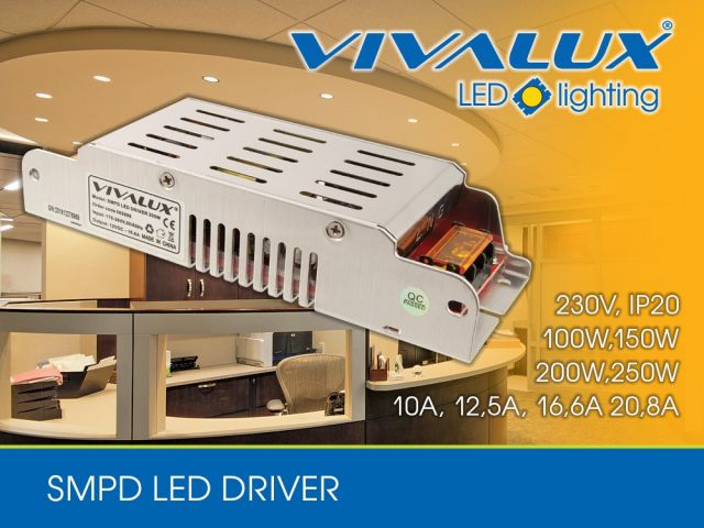 New series SMPD LED drivers Vivalux