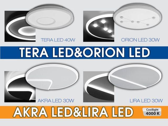 Магията на индиректното осветление TERA/ORION/AKRA/LIRA LED