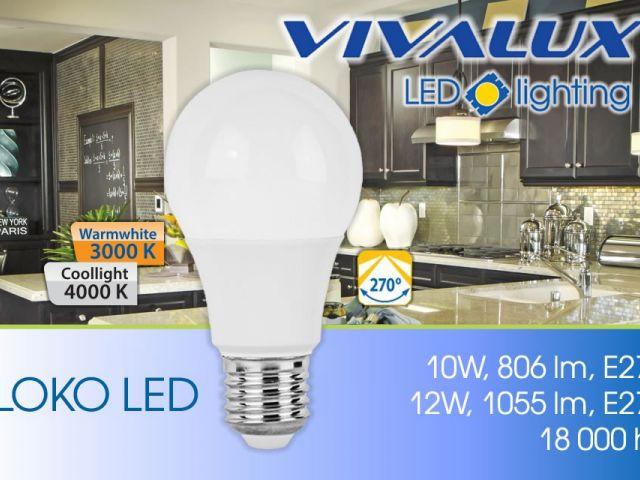 Нови мощни серии LED лампи LOKO LED