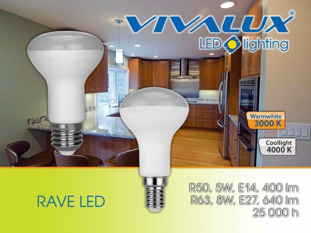 Рефлекторни LED лампи RAVE LED 5W/8W