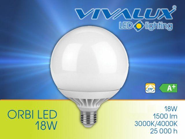 ORBI LED – глобусни LED лампи VIVALUX