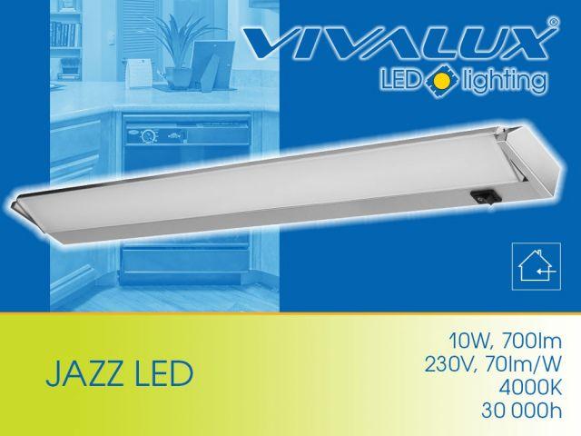 JAZZ LED - най-добрият избор на LED осветление под горен шкаф